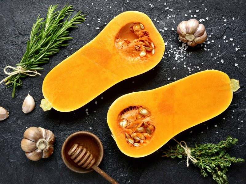 Kitchen safety gourds and squash